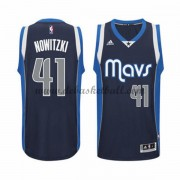 Dallas Mavericks Basketball Trikots 2015-16 Dirk Nowitzki 41# Alternate Trikot Swingman..