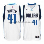 Dallas Mavericks Basketball Trikots 2015-16 Dirk Nowitzki 41# Home Trikot Swingman..
