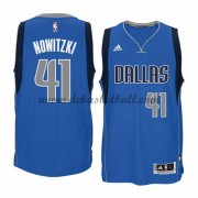 Dallas Mavericks Basketball Trikots 2015-16 Dirk Nowitzki 41# Road Trikot Swingman..