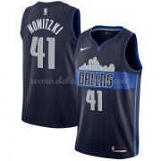 Dallas Mavericks Basketball Trikots 2018 Dirk Nowitzki 41# Alternate Trikot Swingman..