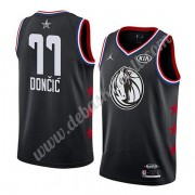 Dallas Mavericks Basketball Trikots 2019 Luka Doncic 77# Schwarz All Star Game Swingman..