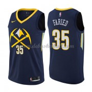 Denver Nuggets Basketball Trikots 2018 Kenneth Faried 35# City Swingman..