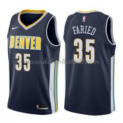 Denver Nuggets Basketball Trikots 2018 Kenneth Faried 35# Road Trikot Swingman..