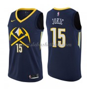 Denver Nuggets Basketball Trikots 2018 Nikola Jokic 15# City Swingman..