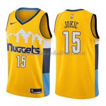 Denver Nuggets Basketball Trikots 2018 Nikola Jokic 15# Alternate Trikot Swingman