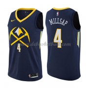 Denver Nuggets Basketball Trikots 2018 Paul Millsap 4# City Swingman..