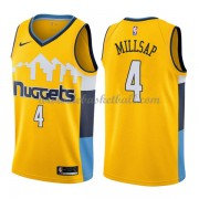 Denver Nuggets Basketball Trikots 2018 Paul Millsap 4# Alternate Trikot Swingman..