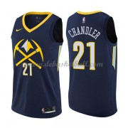 Denver Nuggets Basketball Trikots 2018 Wilson Chandler 21# City Swingman..