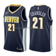 Denver Nuggets Basketball Trikots 2018 Wilson Chandler 21# Road Trikot Swingman..