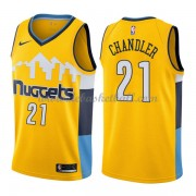 Denver Nuggets Basketball Trikots 2018 Wilson Chandler 21# Alternate Trikot Swingman..