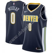 Denver Nuggets Basketball Trikots NBA 2019-20 Emmanuel Mudiay 0# Icon Edition Swingman..