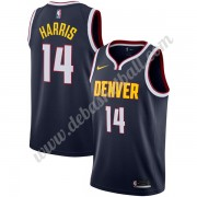 Denver Nuggets Basketball Trikots NBA 2019-20 Gary Harris 14# Marine Icon Edition Swingman..
