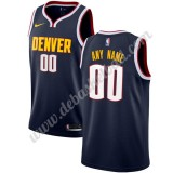 Denver Nuggets Basketball Trikots NBA 2019-20 Marine Icon Edition Swingman
