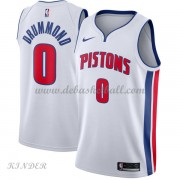 Basketball Trikot Kinder Detroit Pistons 2018 Andre Drummond 0# Home Swingman..