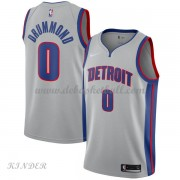 Basketball Trikot Kinder Detroit Pistons 2018 Andre Drummond 0# Alternate Swingman..
