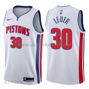 Basketball Trikot Kinder Detroit Pistons 2018 Jon Leuer 30# Home Swingman..