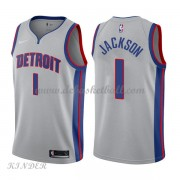 Basketball Trikot Kinder Detroit Pistons 2018 Reggie Jackson 1# Alternate Swingman..