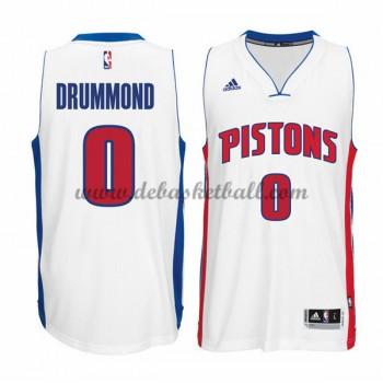 Detroit Pistons Basketball Trikots 2015-16 Andre Drummond 0# Home Trikot Swingman