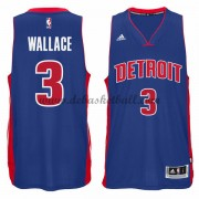 Detroit Pistons Basketball Trikots 2015-16 Ben Wallace 3# Road Trikot Swingman..