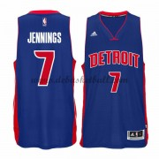Detroit Pistons Basketball Trikots 2015-16 Brandon Jennings 7# Road Trikot Swingman..
