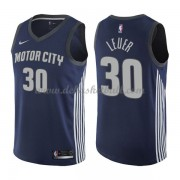 Detroit Pistons Basketball Trikots 2018 Jon Leuer 30# City Swingman..