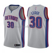 Detroit Pistons Basketball Trikots 2018 Jon Leuer 30# Alternate Trikot Swingman..