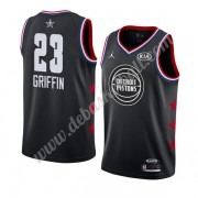 Detroit Pistons Basketball Trikots 2019 Blake Griffin 23# Schwarz All Star Game Swingman..