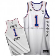 East All Star Game Basketball Trikots 2015 Chris Bosh 1# NBA Swingman..