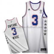 East All Star Game Basketball Trikots 2015 Dwyane Wade 3# NBA Swingman..