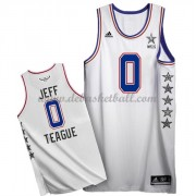 East All Star Game Basketball Trikots 2015 Jeff Teague 0# NBA Swingman