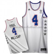 East All Star Game Basketball Trikots 2015 Paul Millsap 4# NBA Swingman..
