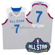 East All Star Game Basketball Trikots 2017 Carmelo Anthony 7# NBA Swingman..