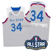East All Star Game Basketball Trikots 2017 Giannis Antetokounmpo 34# NBA Swingman..