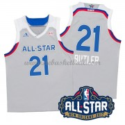 East All Star Game Basketball Trikots 2017 Jimmy Butler 21# NBA Swingman..