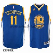 Basketball Trikot Kinder Golden State Warriors 2015-16 Klay Thompson 11# Road Swingman
