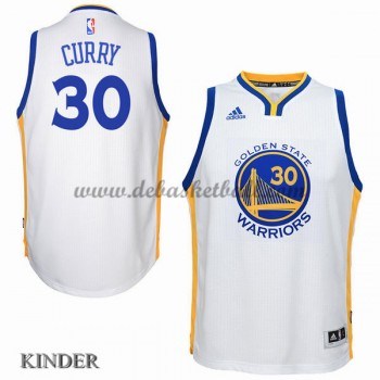Basketball Trikot Kinder Golden State Warriors 2015-16 Stephen Curry 30# Home Swingman