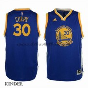 Basketball Trikot Kinder Golden State Warriors 2015-16 Stephen Curry 30# Road Swingman