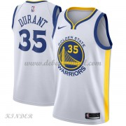 Basketball Trikot Kinder Golden State Warriors 2018 Kevin Durant 35# Home Swingman..