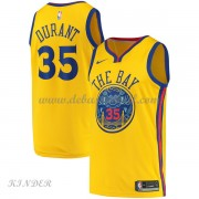 Basketball Trikot Kinder Golden State Warriors 2018 Kevin Durant 35# City Swingman..