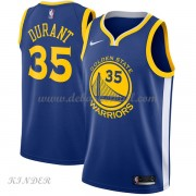 Basketball Trikot Kinder Golden State Warriors 2018 Kevin Durant 35# Road Swingman..