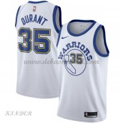 Basketball Trikot Kinder Golden State Warriors 2018 Kevin Durant 35# White Hardwood Classics Swingma..