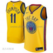 Basketball Trikot Kinder Golden State Warriors 2018 Klay Thompson 11# City Swingman..