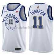 Basketball Trikot Kinder Golden State Warriors 2018 Klay Thompson 11# White Hardwood Classics Swingm..