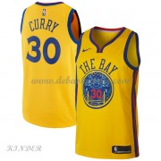Basketball Trikot Kinder Golden State Warriors 2018 Stephen Curry 30# City Swingman..
