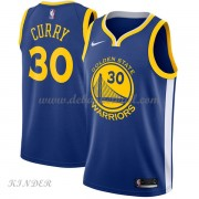 Basketball Trikot Kinder Golden State Warriors 2018 Stephen Curry 30# Road Swingman..