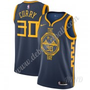 Basketball Trikot Kinder Golden State Warriors 2019-20 Stephen Curry 30# Marine City Edition Swingma..