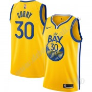 Basketball Trikot Kinder Golden State Warriors 2019-20 Stephen Curry 30# Gold Finished Statement Edi..