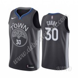 Basketball Trikot Kinder Golden State Warriors 2019-20 Stephen Curry 30# Schwarz City Edition Swingman