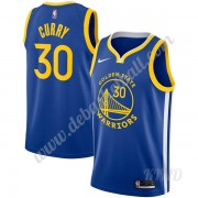 Basketball Trikot Kinder Golden State Warriors 2019-20 Stephen Curry 30# Blau Icon Edition Swingman..