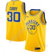 Basketball Trikot Kinder Golden State Warriors 2019-20 Stephen Curry 30# Gold Hardwood Classics Swin..